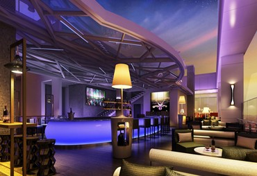 Hype, Shangri-La's Glamorous Rooftop Bar