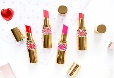 YSL Rouge Volupté Shine Lipstick - Spring Look 2017