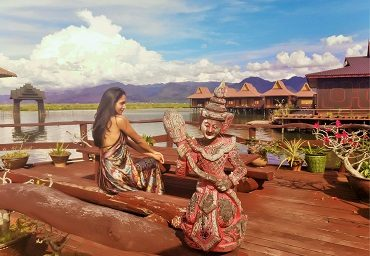 Shwe Inn Tha Floating Resort at Inle Lake