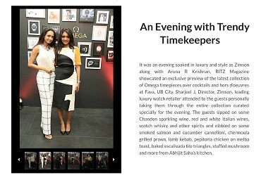An Evening with Trendy Timekeepers